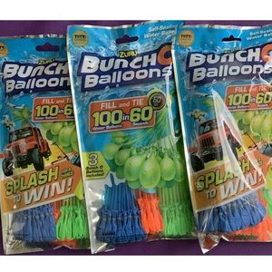Bunch O Balloons self sealing water balloons 3 pks
